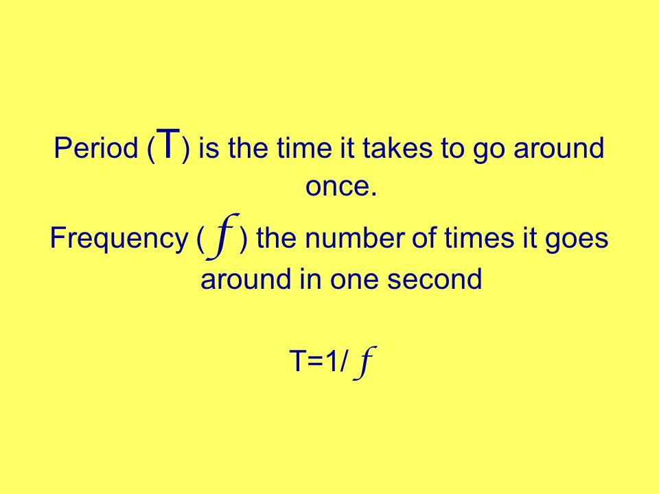 Centripetal acceleration Always toward the center a c = v 2 r