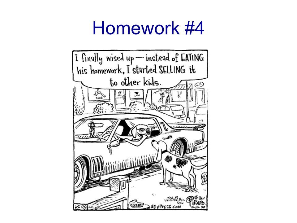 Homework #4