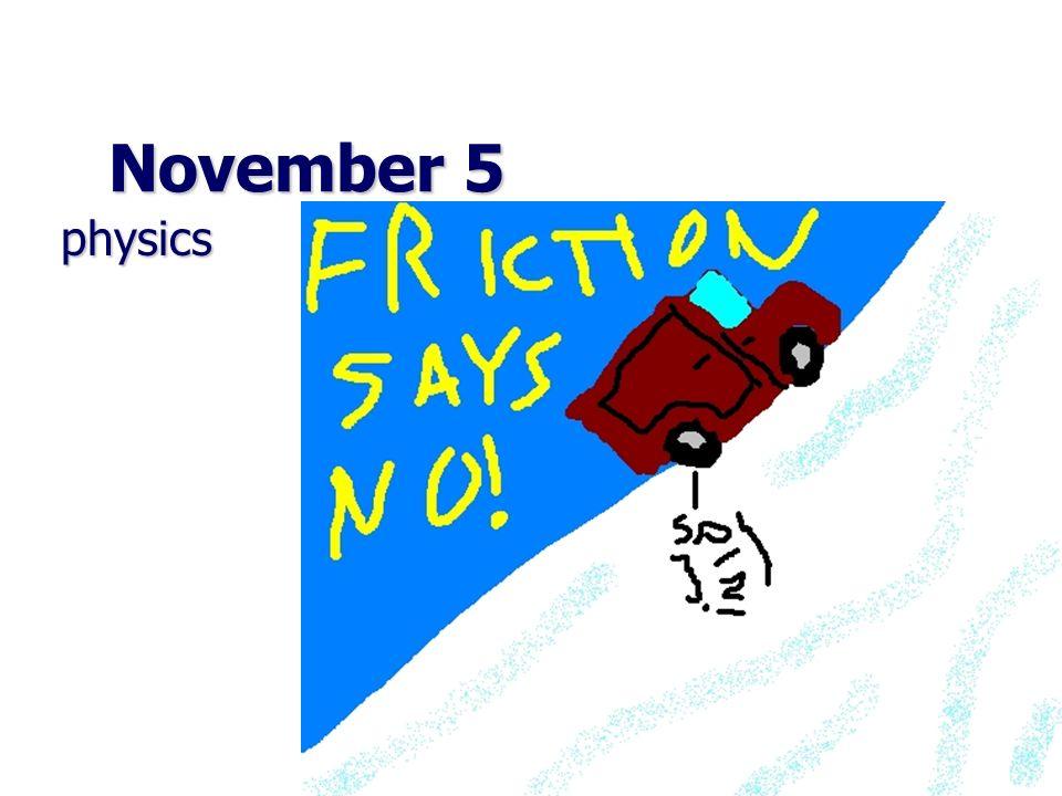 November 5 physics physics