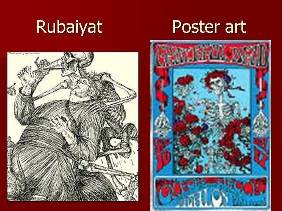 Rubaiyat Poster art