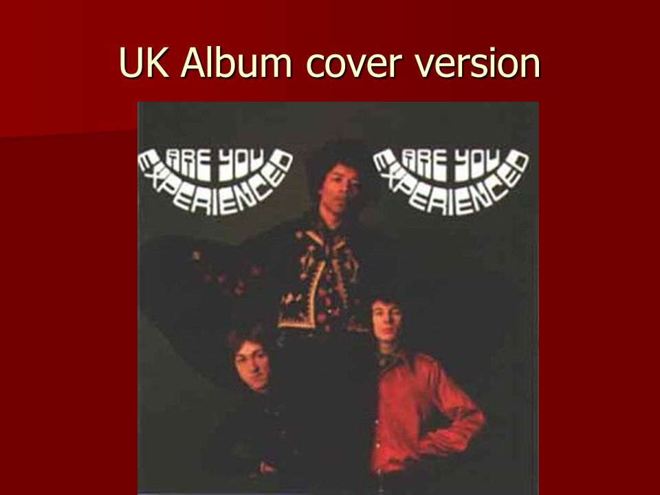 UK Album cover version