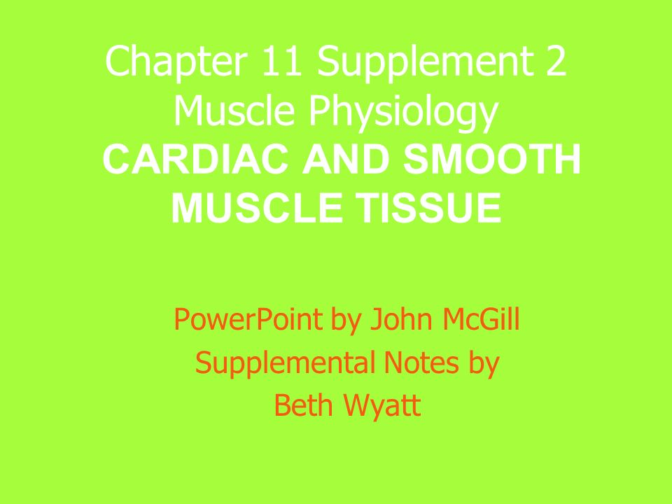 CARDIAC MUSCLE TISSUE LOCATION Located in the Wall of the Heart MAJOR FUNCTION Pumps Blood (By Contraction) TYPE OF CONTROL Involuntary