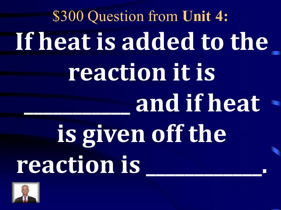 $200 Answer from Unit 4: Ba +2 F -1 = BaF 2