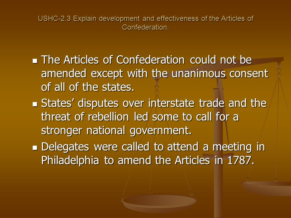 A New Nation USHC-2.4: Summarize the creation of a new national government, including the new state constitutions, the countrys economic crisis, the Founding Fathers and their debates at the Constitutional Convention, the impact of the Federalist Papers, and the subsequent ratification of the Constitution.
