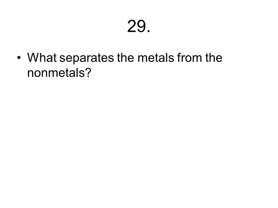 28. What do elements in the same group or family have in common