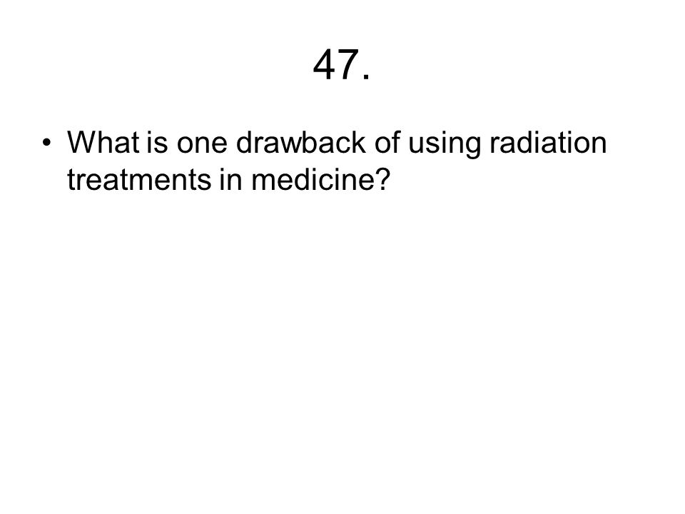 46. What is needed to start a fusion reaction?
