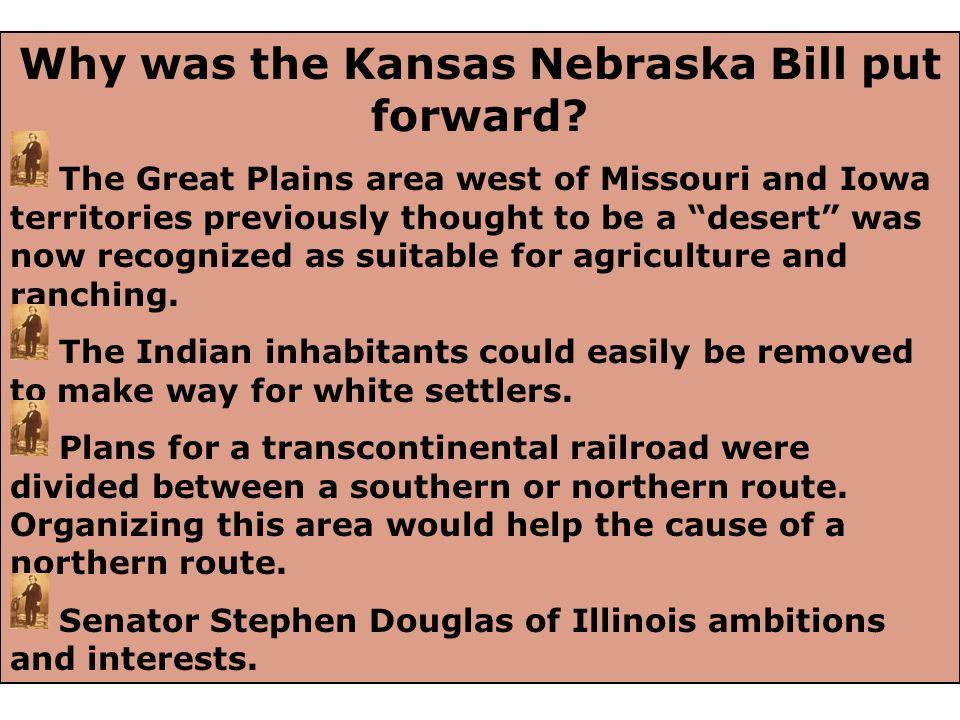 Missouri Compromise of 1820 line Slavery not allowed under Missouri Compromise Slavery allowed under Missouri Compromise The status of slavery in the territories before the Kansas Nebraska Act of 1854