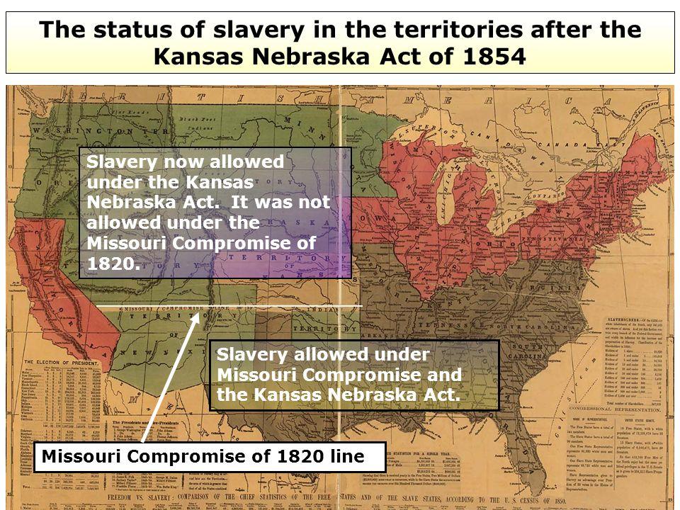 the Kansas-Nebraska Act had a profound impact on the course of U.S.