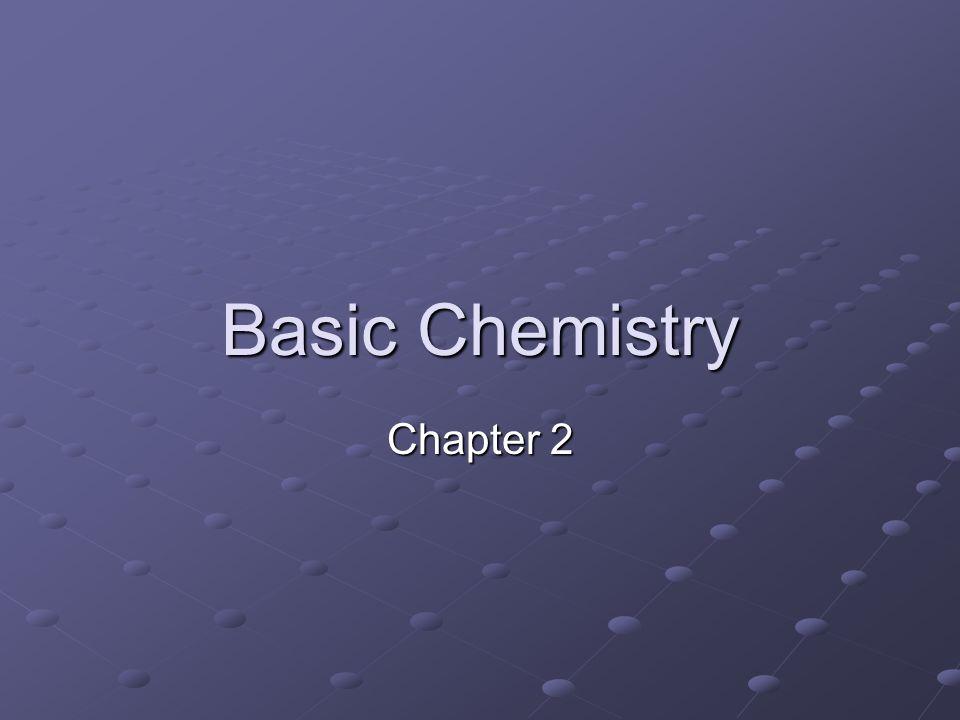 Basic Chemistry Chapter 2