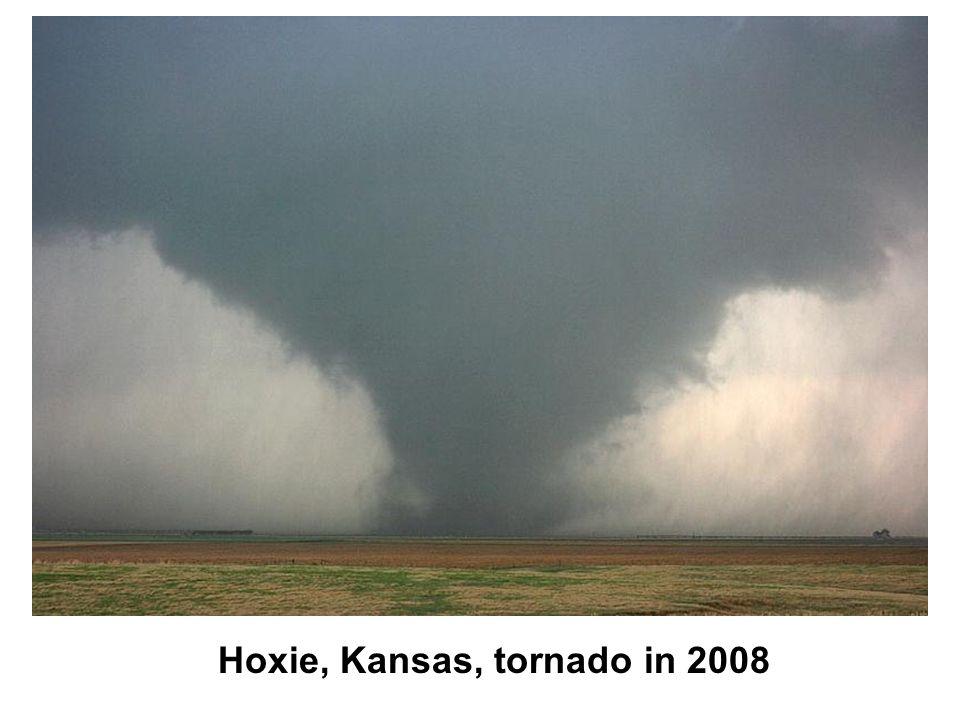 Hoxie, Kansas, tornado in 2008