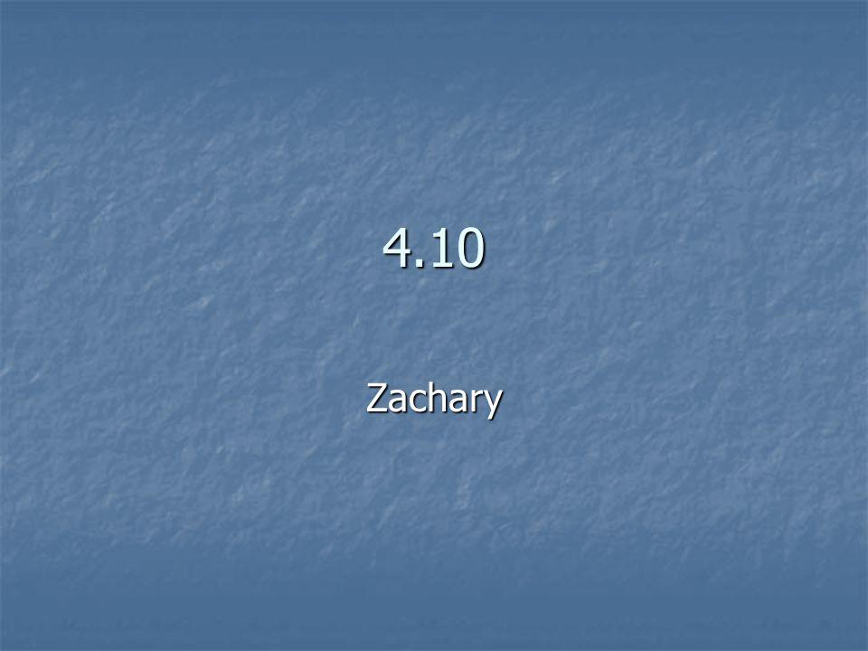 4.10 Zachary