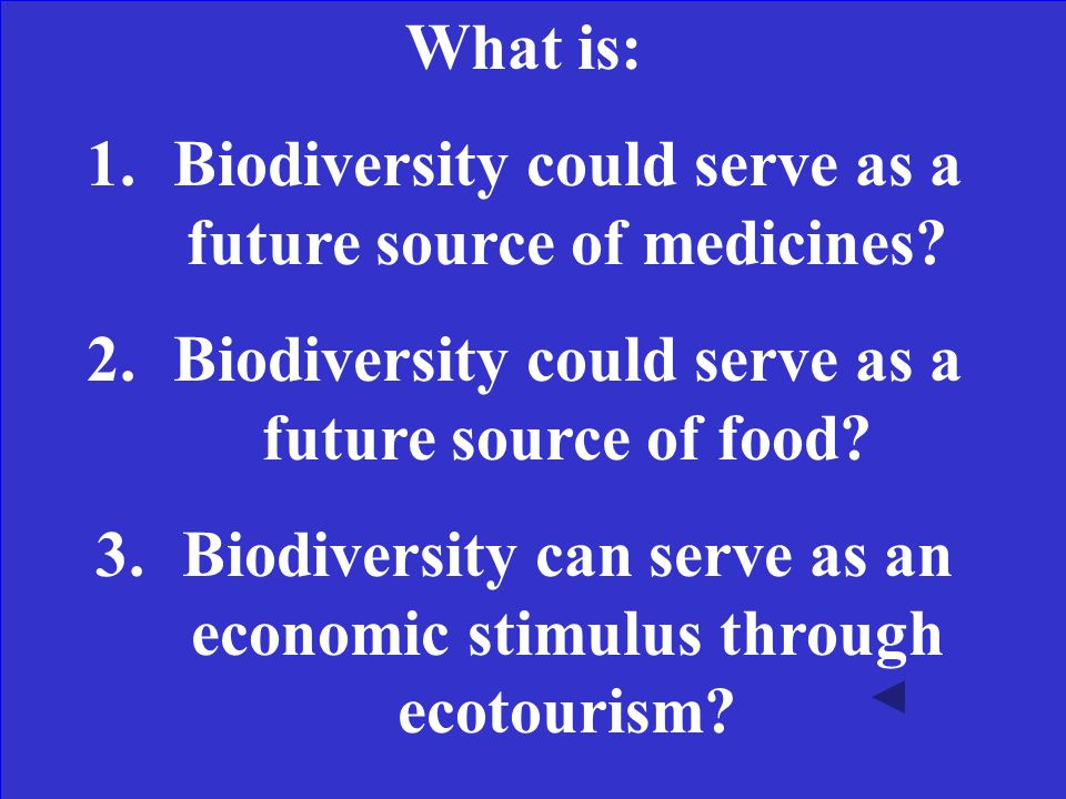 What are two reasons to advocate for the protection of biodiversity.