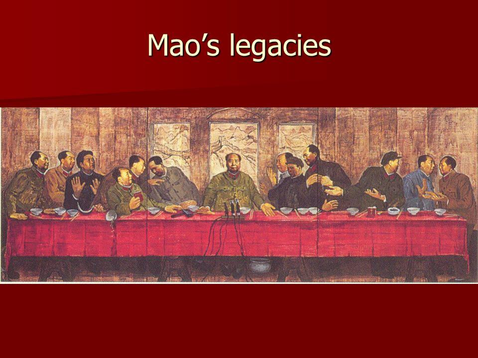 Maos legacies