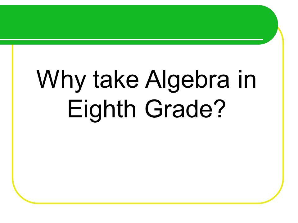 Receive a high school math credit.Quickly progress to higher mathematics classes.