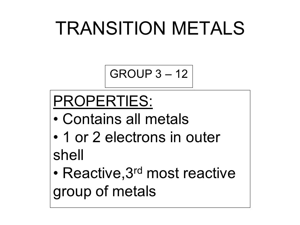 NOBLE GASES PROPERTIES: All nonmetals 8 electrons in outer level (except Helium which has 2) Unreactive GROUP 18