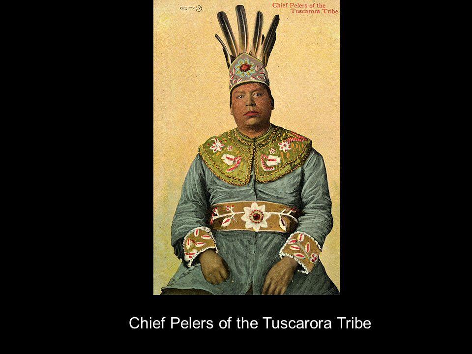 Chief Pelers of the Tuscarora Tribe