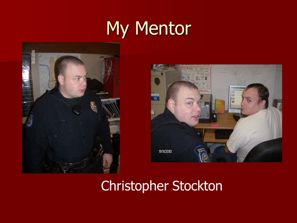 My Mentor Christopher Stockton