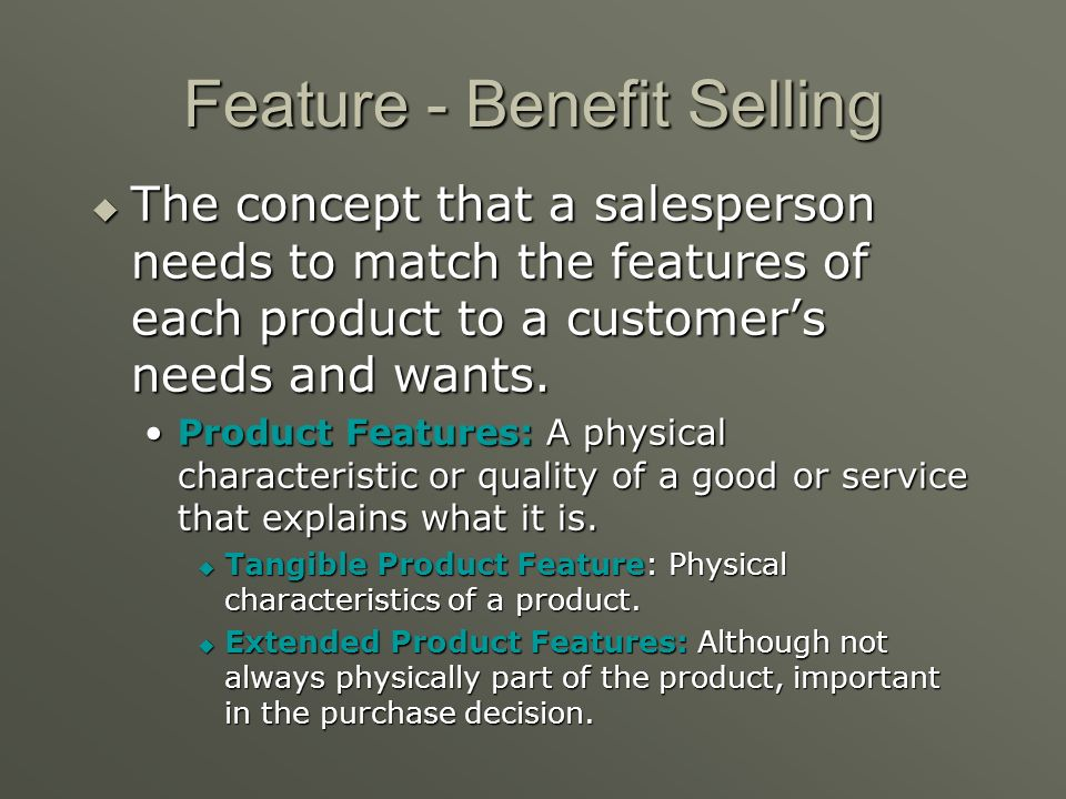 Consultative Selling Consultative Selling: Providing solutions to customers problems by finding products to meet their needs. Consultative Selling: Pr