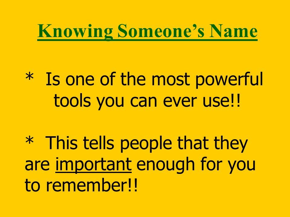 * Is one of the most powerful tools you can ever use!.