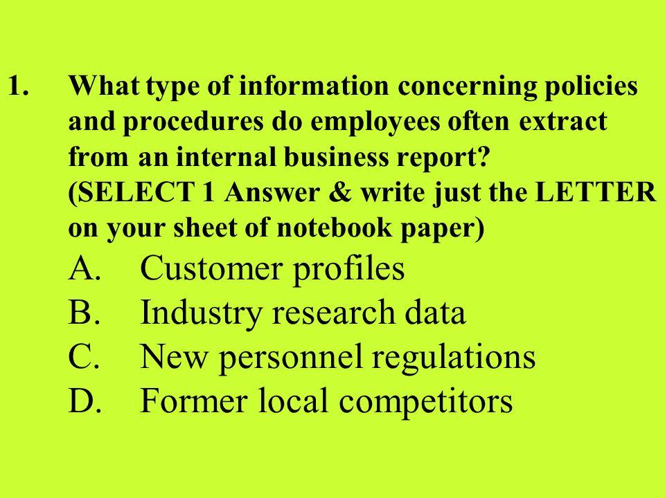 1 st Homework Assignment NOTEBOOK SUPPLIES etc >> HANDOUT ASSN & RUBRIC
