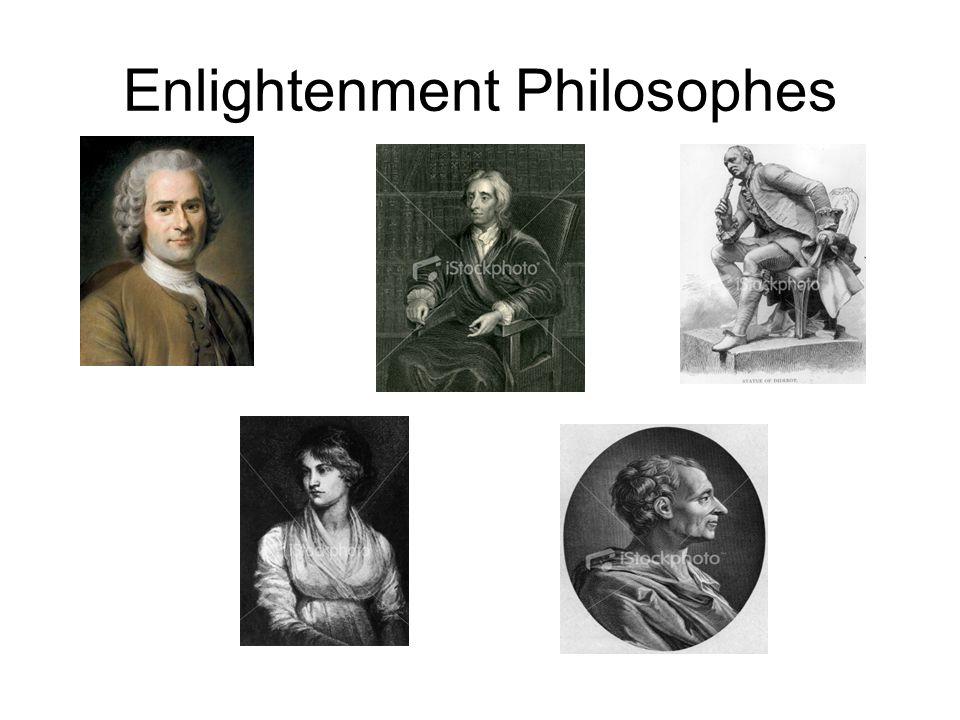 Enlightenment Philosophes
