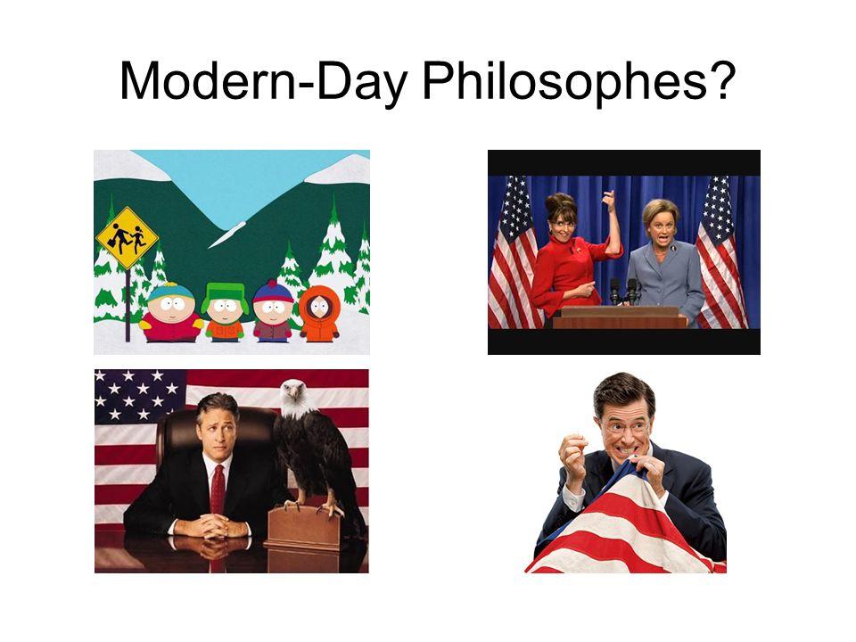 Modern-Day Philosophes?