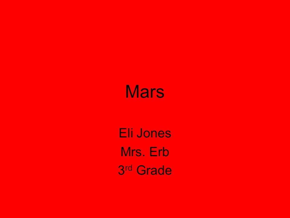 Mars Distance from the sun: 228 million km Rotation (1 day):24 hours 37min 23sec Revolution (1 year): 687 days