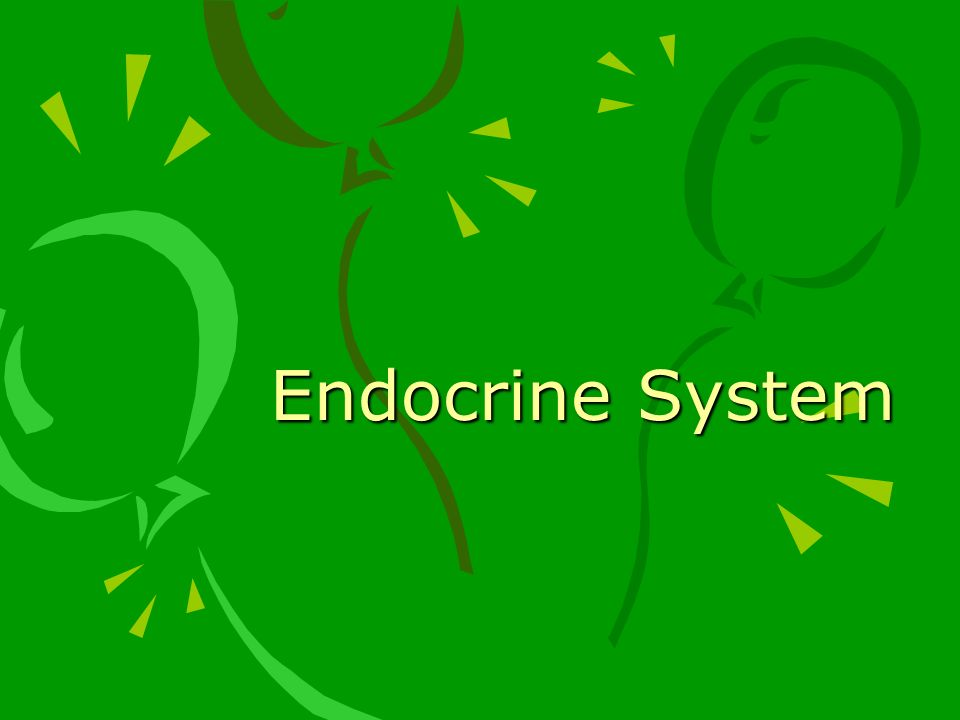 ENDOCRINE GLANDS Secrete hormones directly into bloodstream Ductless EXOCRINE GLANDS – secrete substances through a duct (sweat, salivary, lacrimal and pancreas)