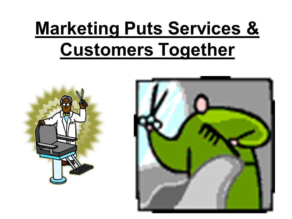 Services Need Marketing Too
