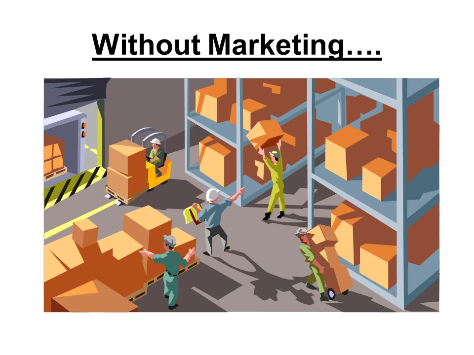 Without Marketing….