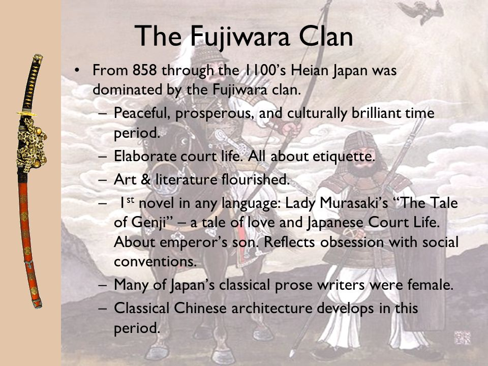 Heian Japan The Emperor was considered to be descendant of Japans Shinto gods, and therefore sacred. During the Heian period, the emperor lost politic