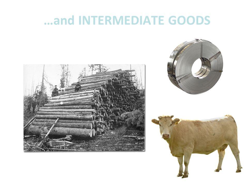 …and INTERMEDIATE GOODS