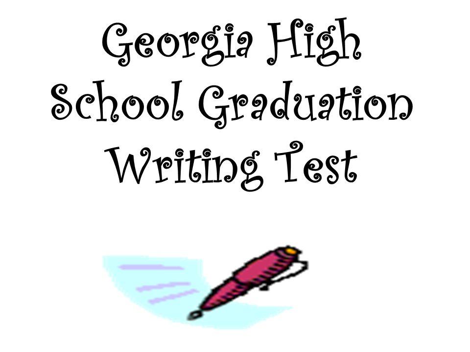 Georgia High School Graduation Writing Test