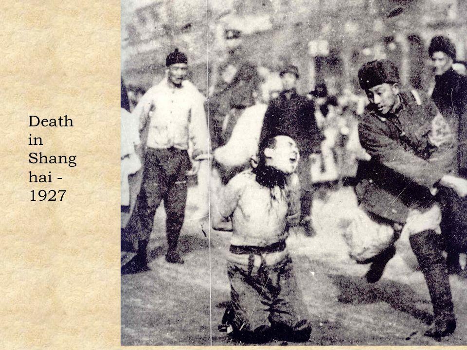 Death in Shang hai - 1927