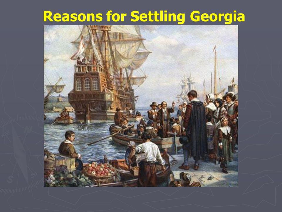 Reasons for Settling Georgia