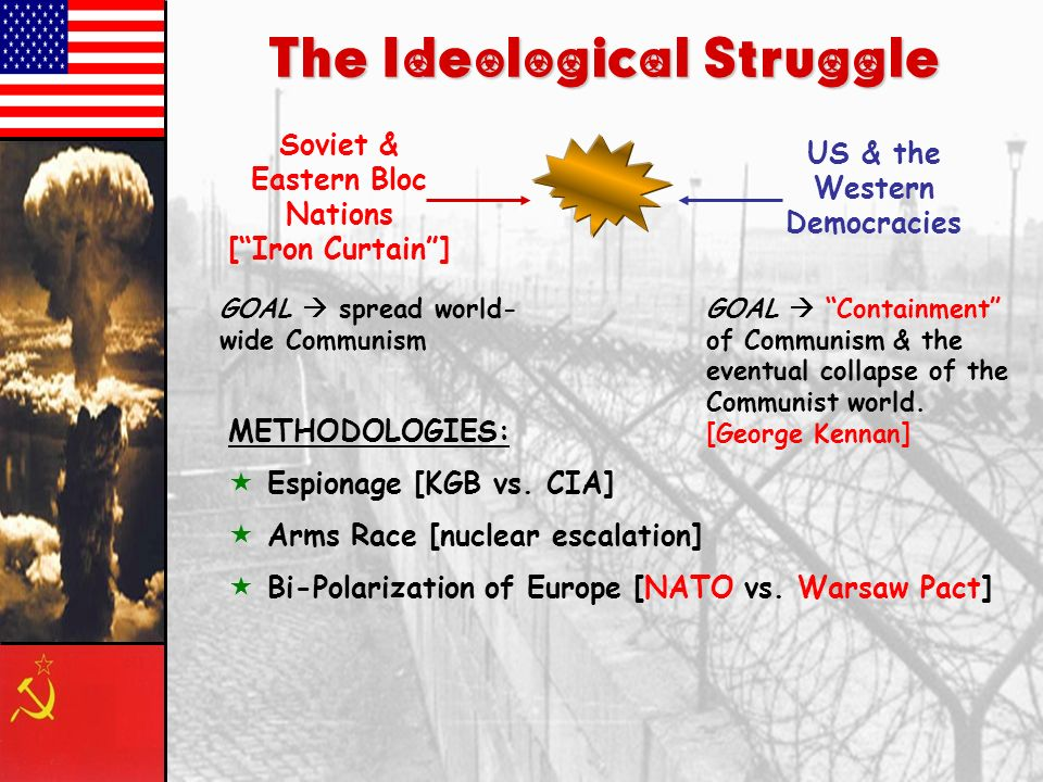Origins of the Cold War Assessment Which of these choices best describes the primary goal of the United States for postwar Europe.
