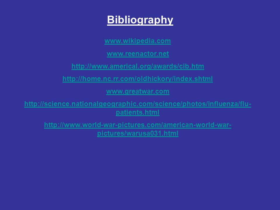 Bibliography patients.html   pictures/warusa031.html