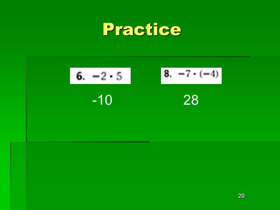 20 Practice -1028