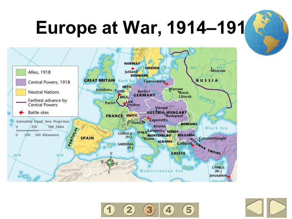 Europe at War, 1914–1918 3