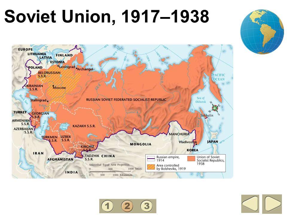 Soviet Union, 1917–1938 2