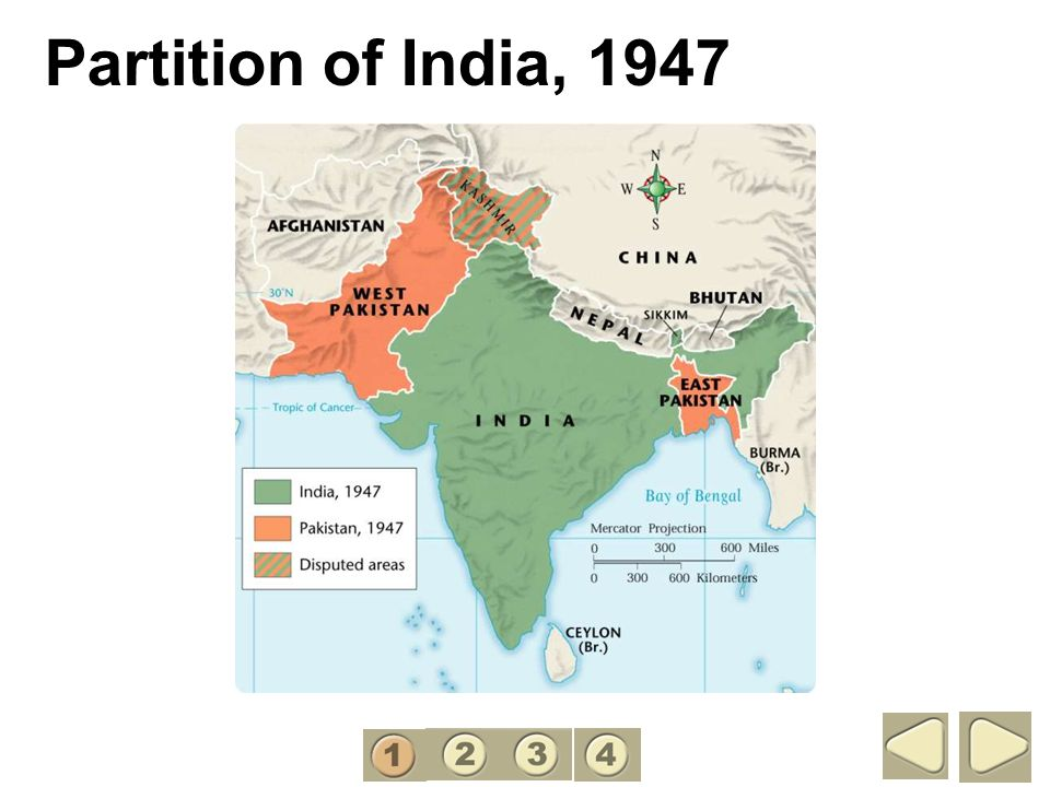 Partition of India, 1947 1