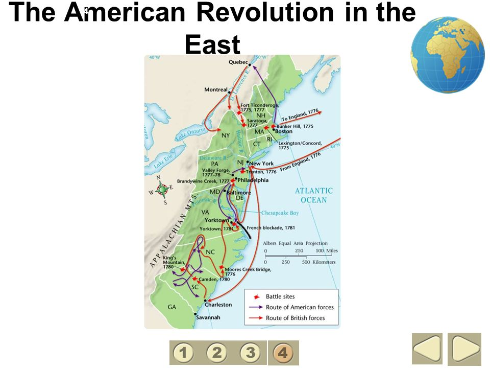 The American Revolution in the East 4