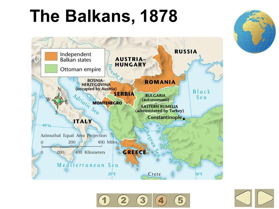 The Balkans, 1878 4
