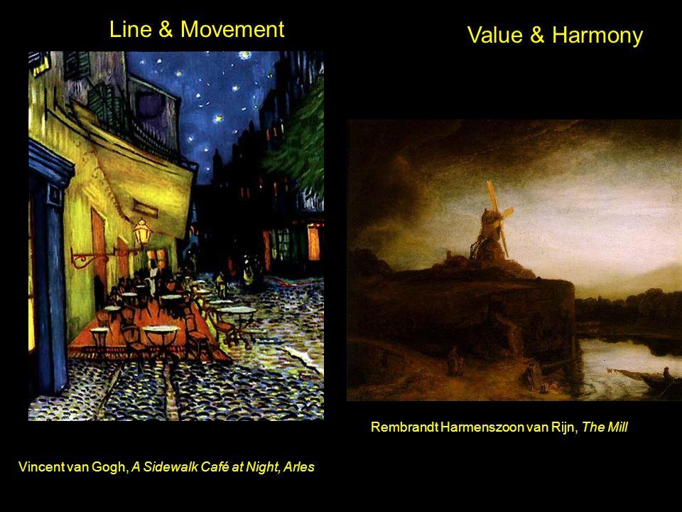 1.Imitationalsim: focuses on realistic representations, the literal qualities.