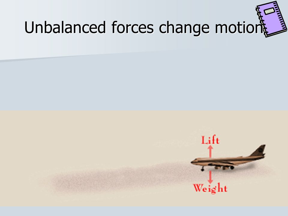What does a force do? Gives energy to an object Can set an object in motion, make it stop, or change its motion