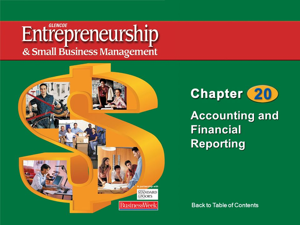 Accounting and Financial Reporting Back to Table of Contents