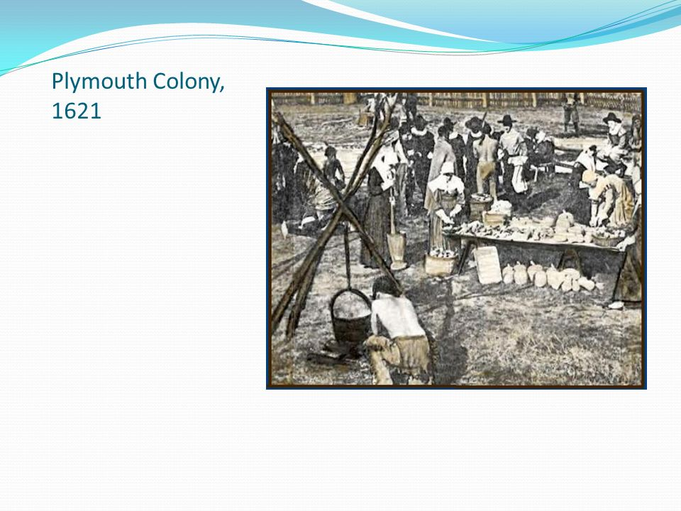 Plymouth Colony, 1621
