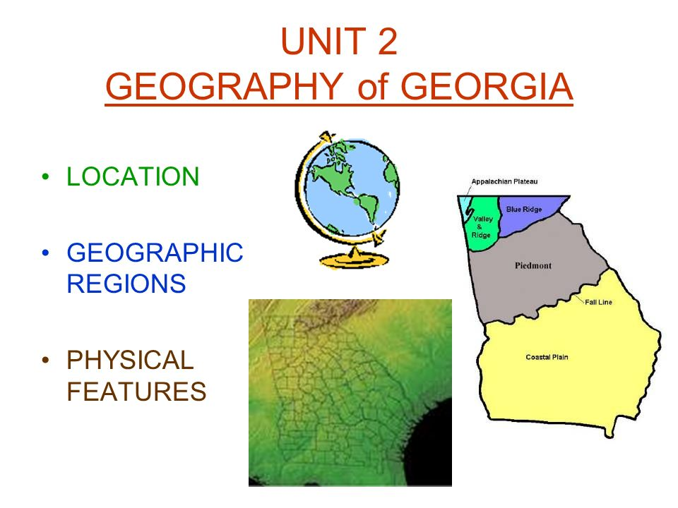 geography unit 2