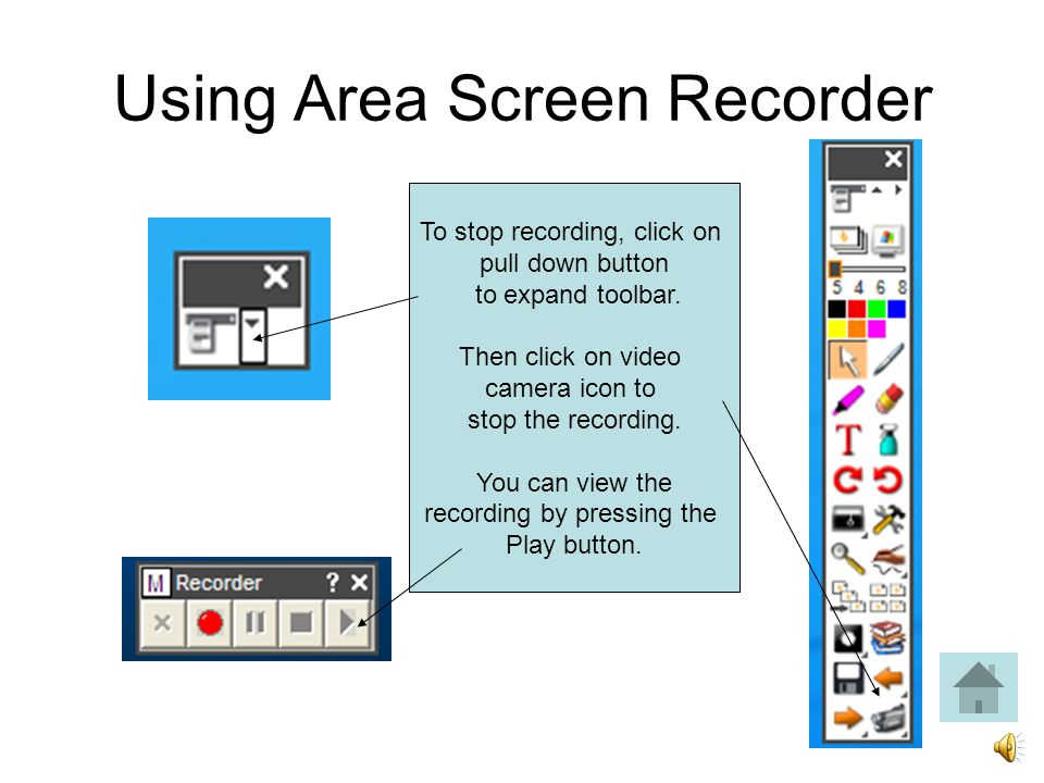 Using Area Screen Recorder Browse to the folder in which you wish to save the recording, name the file, and hit Save.