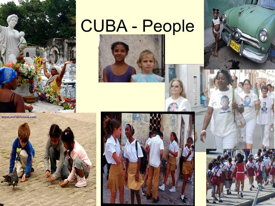 CUBA - People